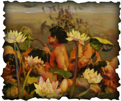 Cyclops and lotus eaters the odyssey special ability persuade visitors into eating lotus flowers making them stay forever mightylinksfo